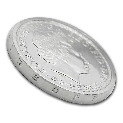 2014 Great Britain 1/4 oz Silver Britannia SS Gairsoppa BU - SKU #86209 3