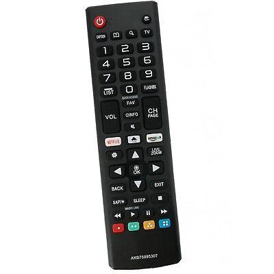 New AKB75095307 Remote Control Replace for LG Smart TV 43LJ5550 49LJ550M 55LJ555 5