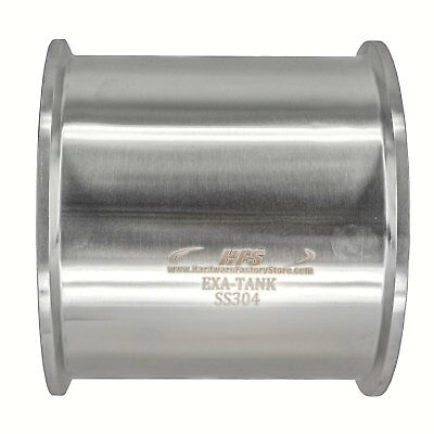 """HFS(R) 4"""" X 4"""" Sanitary Tank - Tri Clamp Clover Stainless Steel"""