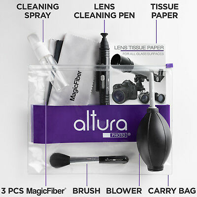 Altura Photo® Professional Lens Cleaning kit for Canon Nikon Sony DSLR Camera 2