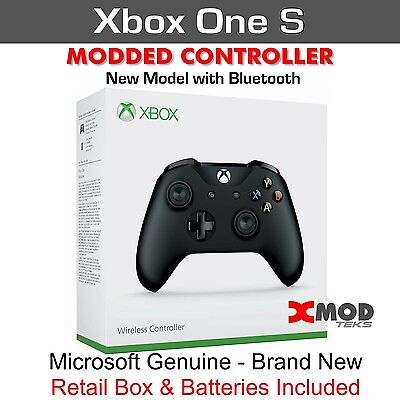 XBOX ONE S Modded Controller, SCUF Like, PRO CHIP RAPID FIRE MOD REMAP XMOD  30