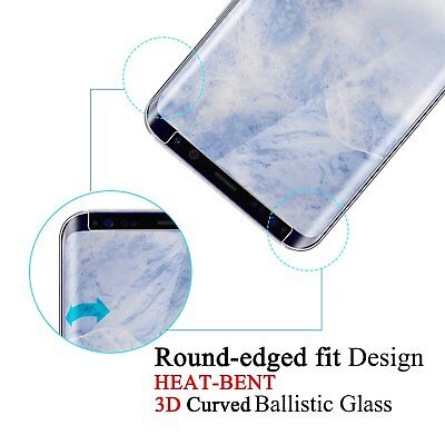 Case Friendly Tempered Glass Screen Protector For Samsung Galaxy S8 S9 S10 Plus 4