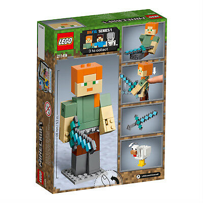 LEGO® Minecraft™ 21149 BigFig Alex mit Huhn Actionfigur N2/19 2