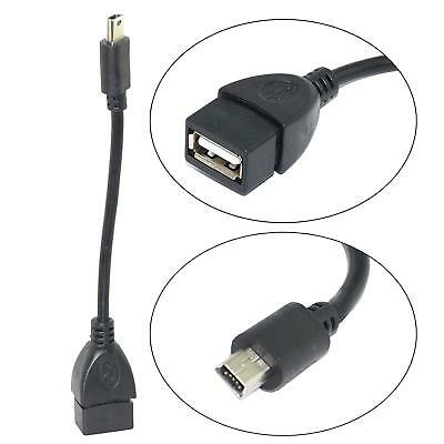 USB 2.0 A Male to Mini 8 Pin B Data Charging Cable Adapter DS PC CAMERA New X5P1