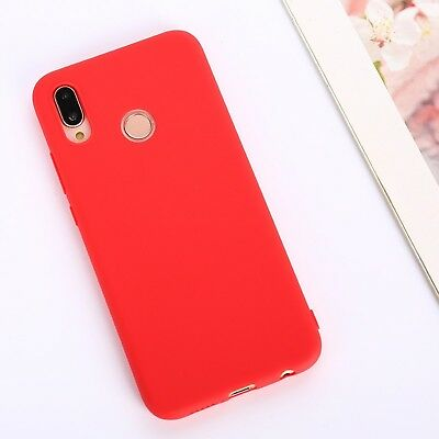 Candy Color Case for Huawei Y5 Y6 Y7 Y9 Honor 8x P20 Cover Smart Soft Silicon 12