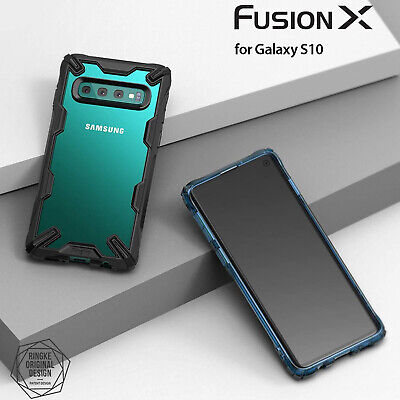 Galaxy S10 S10e S10+ Plus Case Genuine RINGKE FUSION X Clear Cover For Samsung 2