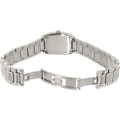 Bulova Women's 96R162 Quartz Diamond Accented Silver-Tone Bracelet 24mm Watch 3