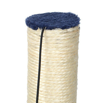 LIVINGbasics® Cat Scratch Play Post Kitten Scratching Pole Stand With Toy Ball 9