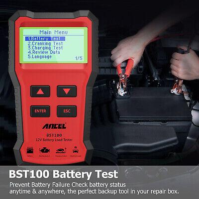 ANCEL BST100 12V 220Ah 2000CCA Battery Load Tester Vehicle Battery Analyzer Tool 2