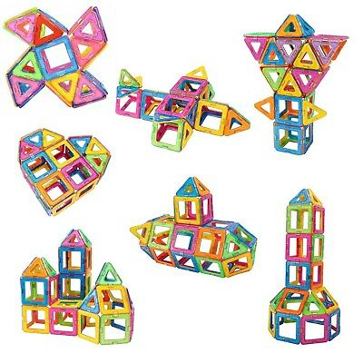 Magnetic Toy Building Blocks Set 3D Tiles DIY Toy Magic Educational Gift for Kid 2