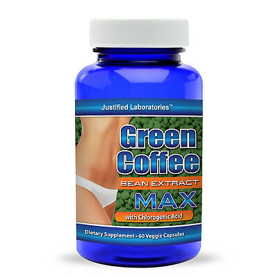 Pure Green Coffee Bean Extract 800 Mg 50 Chlorogenic Diet Weight