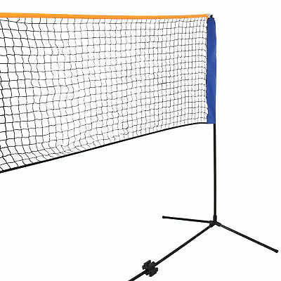 10 Feet Portable Badminton Volleyball Tennis Net Set with Stand/Frame Carry Bag 6