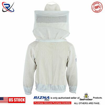 Bee Clothing 3 Layer Ultra Ventilated beekeeping jacket Round veil@2XL-38