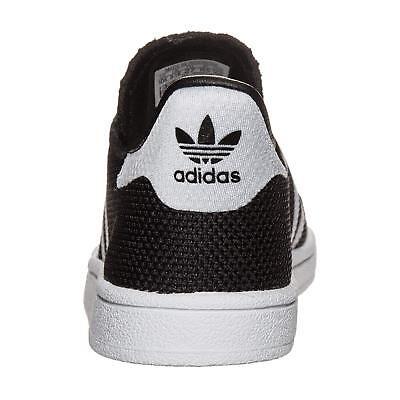 size 40 1171c 65350 ... Adidas Originals Superstar i Bambino Piccoli Scarpe da Ginnastica Nero  Bianco 3