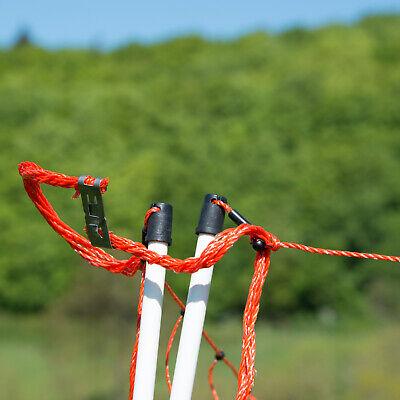 horizont - Filet clôture ELECTRIFIABLE│hauteur 90 cm│longueur 50 m clôture 3