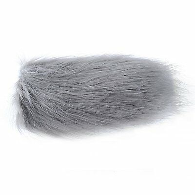 "Movo WS3 Furry Outdoor Shotgun Microphone Windscreen Muff (Fits up to 7"" X 55mm) 4"
