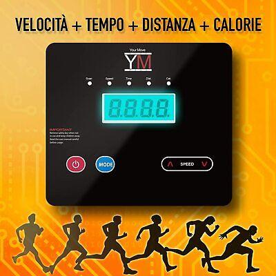 Ym Tapis Roulant Elettrico Pieghevole 2,5 Hp Picco Supporto Tablet E Smartphone 6