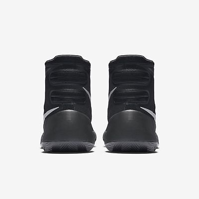 sports shoes 57e3e 57280 ... New Nike Mens Hyperdunk Basketball Shoes Black Metallic Silver Trainers  UK 7 5
