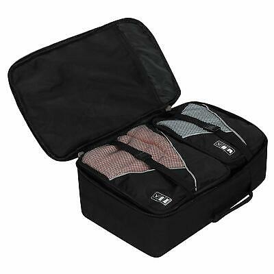 Hynes Eagle Travel Backpack 40L Flight Approved Carry on Backpack Packing Cubes 7