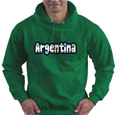 Argentina Flag Love Childrens Childs Kids Boys Girls Hoodie Hooded Top 5