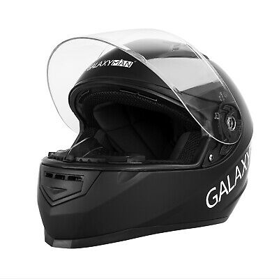 Safety Motorcycle Full Face Helmet Street Motorbike Helmets Racing + FREE GLOVES 2