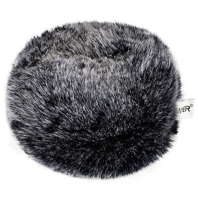 Neewer Outdoor Microphone Furry Windscreen Muff for Zoom H4n H5 H6 Sony PCM-D50 2