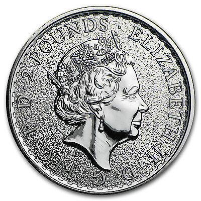 2016 Great Britain 1 oz Silver Britannia BU - SKU #93738 2