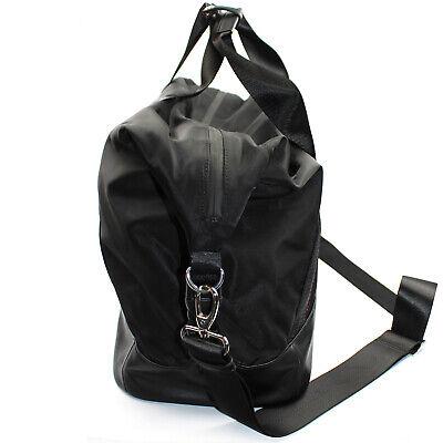 Roberto Cavalli CLASS weekend travel bag duffle bag of black nylon leopard print 8