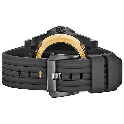 Bulova Grammy Edition Precisionist Men's Black Silicone Strap 47mm Watch 98B294 3