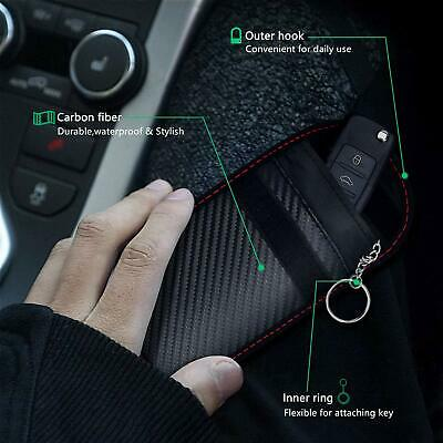 Car Key Signal Blocker Pouch Case Fob Faraday Bag RFID Security Blocking New UK✅ 2
