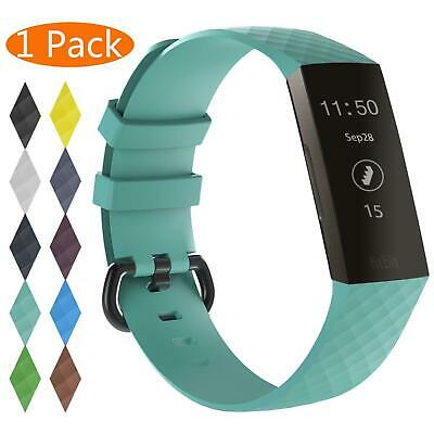 For OEM Fitbit Charge 3 Replacement Wrist Band Silicone Bracelet Watch Rate Fit 4