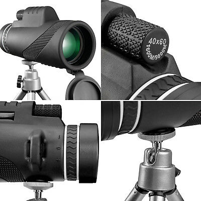40x60 Clip-on Optical Zoom HD Telescope Camera Lens For Universal Cell Phone US 8