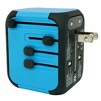 JOLLYFIT Universal Travel Adapter 5A Smart Charger (Blue Type-C and 3 USB Port) 2