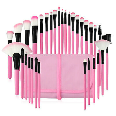 7~32Pcs Professional Makeup Brushes Set Eyeshadow Lip Powder Brush Cosmetic Tool 7