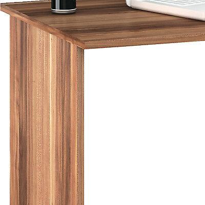 Schreibtisch Nussbaum Weiss 001 Computertisch Pc Kinderschreibtisch