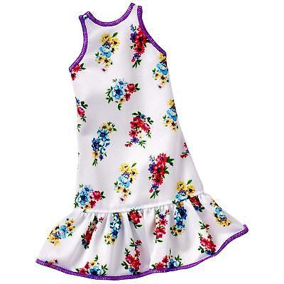 LOT of 7 Genuine Mattel Barbie Doll Dolls Fashion Clothing Clothes Dress Dresses 8