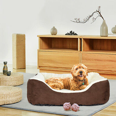 Dog Bed Kennel Medium Size Cat Pet Puppy Sofa Bed House Soft Warm Hot 6