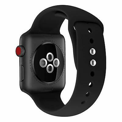for Apple Watch iWatch Series 3 4 5 38/40/42/44mm Soft SILICONE Sport Strap Band 5