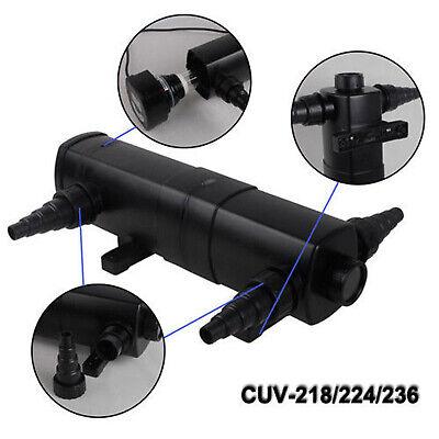 Uvc Filtro de Luz Clarificador Estanque Agua UV Dispositivo Algicida 4