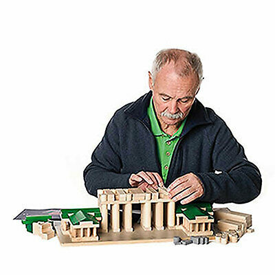 Erzi Architect Brandenburger Tor aus Holz 184 Teile Spielzeug Motoriktrainer 4