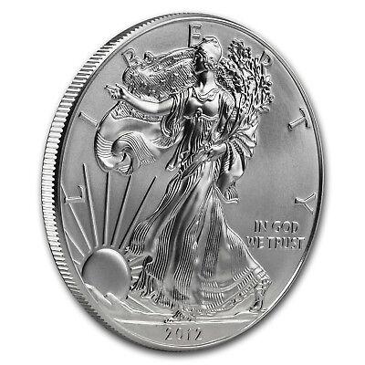 2012 1 oz Silver American Eagle BU - SKU #65202 3