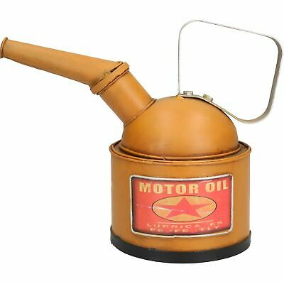 Oil Can Metal Model Sculpture Statue Decoration Replica Money Box Bank Coin 2