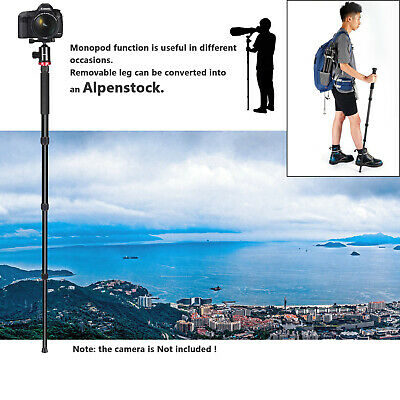 Neewer Camera Tripod Monopod with Ball Head for DSLR Camera Video Camcorder 8