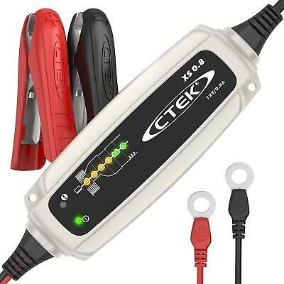 New CTEK XS 0.8 12V Motorbike Battery Smart Charger & Conditioner 2
