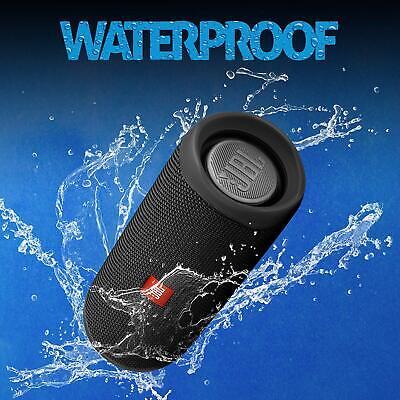 JBL Flip 5 Portable Waterproof Bluetooth Speaker - Black 4