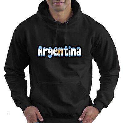 Argentina Flag Love Childrens Childs Kids Boys Girls Hoodie Hooded Top 2
