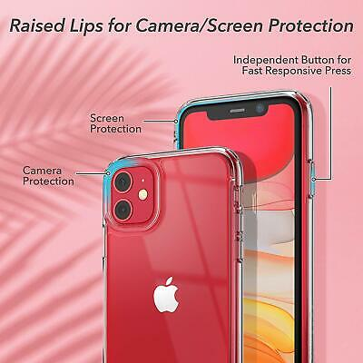 Shockproof Transparent Silicone Case Cover For iPhone 11 XS Max XR 8 7 Plus 6S 6 4
