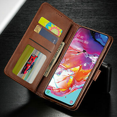 For Samsung Galaxy A70 A50 A40 30 A10 PU Leather Magnetic Wallet Flip Case Cover 4