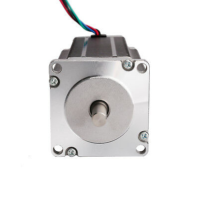 3pcs LONGS Nema 23 stepper motor 425oz.in 3NM, dual shaft 4 leads, bipolar 3.0A 2
