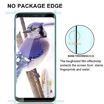 100% Genuine tempered glass screen protector for Samsung Galaxy S9 - Black 4